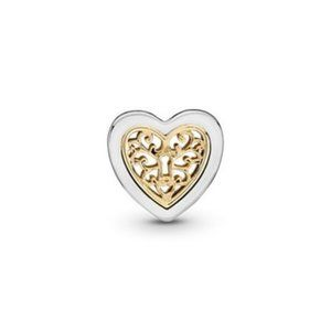 ❤️Pandora Locked Love Openwork Charm
